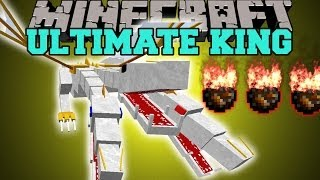 getlinkyoutube.com-Minecraft: THE ULTIMATE KING (CAN YOU SURVIVE THE DEADLIEST BOSS YET?) Mod Showcase