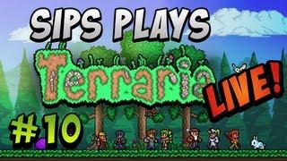 getlinkyoutube.com-Sips Plays Terraria Live! - Part 10 (Full Livestream)
