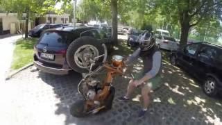 Honda Dax & Monkey FAILS - Part 1