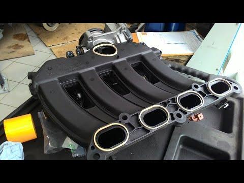 Renault Duster, замена уплотнительных колец в ресивере