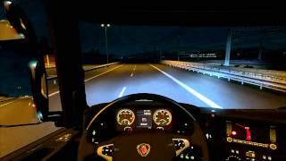 getlinkyoutube.com-Euro Truck Simulator 2 Scania R Lyon -  Basel