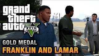 getlinkyoutube.com-GTA 5 - Intro & Mission #1 - Franklin and Lamar [100% Gold Medal Walkthrough]