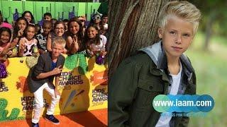 getlinkyoutube.com-Carson Lueders Interview with Teen Network, iaam