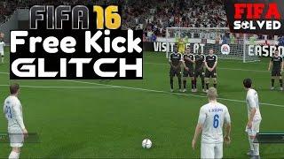 getlinkyoutube.com-FIFA 16 Free Kick Glitch Tutorial - Score Everytime (BEST Tips)