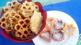 getlinkyoutube.com-Eggless Crispy Achu Murukku / Rose cookies /  Achappam   - in Tamil (NEW METHOD)