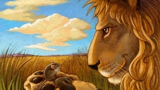getlinkyoutube.com-Story For Children In English - lion and mouse - hair and tortoise - thirsty crow