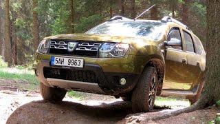 getlinkyoutube.com-Dacia Duster 2016 Off road Driving footage 4x4
