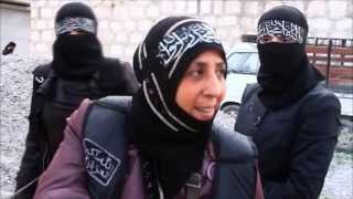 getlinkyoutube.com-Meet Syria's extremist female fighters / ©TraceyShelton2013 (All Rights Reserved)