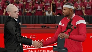 getlinkyoutube.com-NBA 2K16 PS4 My Career - MVP Award! Playoffs QFG1