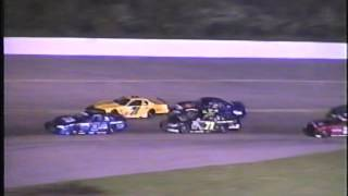 getlinkyoutube.com-July 11 2003 Limited Late Model Feature Madison International Speedway