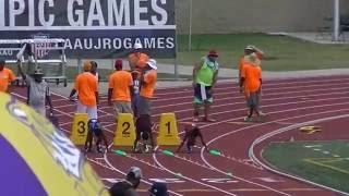 10yr Tory Blaylock 12.99s 100m Finals AAU Junior Olympics 2016