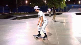getlinkyoutube.com-Justin Bieber Skateboarding