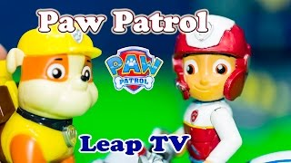 getlinkyoutube.com-PAW PATROL Nickelodeon Paw Patrol Leap TV Game a Paw Patrol Video Toy Review