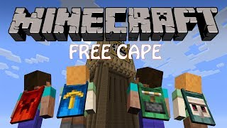 getlinkyoutube.com-How to get a free cape in Minecraft 2016 | CraftingRecipes