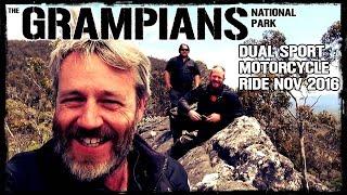 Grampians Dual Sport Motorcycle Ride NOV 2016