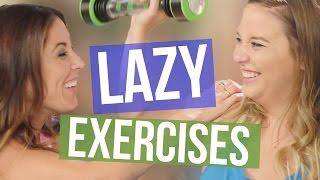 getlinkyoutube.com-3 Exercise Tools for Lazy People (Beauty Break )