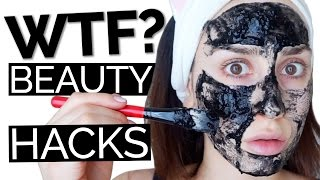 3 WTF Viral Beauty Hacks TESTED | Hack My Life #22