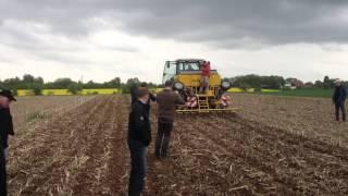 Claydon Hybrid Drill Direct in Maize Stubble