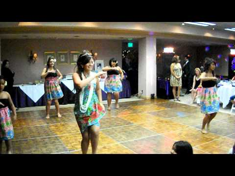 Rosie's Quince: Suprise Dance Hula Honey Baby