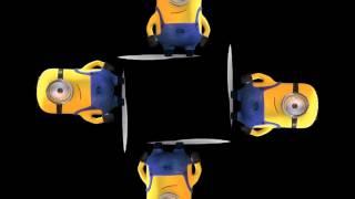 getlinkyoutube.com-МИНЬОНЫ видео для голографической 3D пирамиды