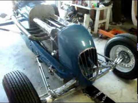 HAL Head Vintage Race Car 1930 -1940  Sprint Car