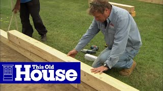 getlinkyoutube.com-How to Build a Wheelchair Accessible Raised Garden Bed - This Old House