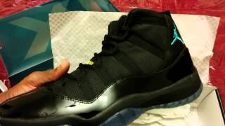 getlinkyoutube.com-Jordan 11 gamma blue & truth on real and fakes