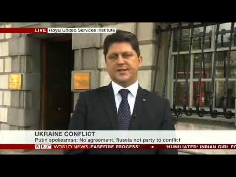 Interviul ministrului afacerilor externe, Titus Corlăţean, pentru BBC World News TV, emisiunea World at One