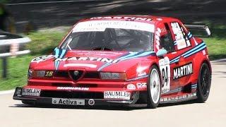 getlinkyoutube.com-INSANELY LOUD 1996 Alfa Romeo 155 V6 Ti Screaming On Hill Climb
