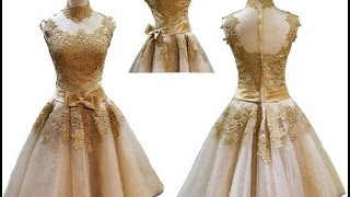 getlinkyoutube.com-Top 100 beautiful vintage party dresses for women 2016