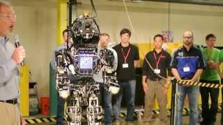 getlinkyoutube.com-Atlas Robot Close-UP View [ One of The Best Humanoid Robot ]