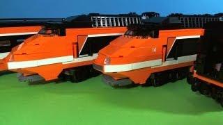 getlinkyoutube.com-LEGO TRAINS HORIZON EXPRESS 10233