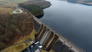 getlinkyoutube.com-Thruscross reservoir & dam, North Yorkshire, UK - SHORT Version