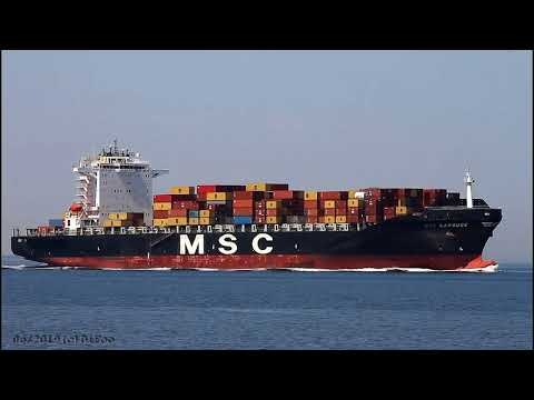 Click to view video MSC CAROUGE - IMO 9320441 - Germany - River Elbe - Otterndorf