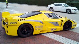 getlinkyoutube.com-Ferrari fxx take off