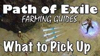 getlinkyoutube.com-Path of Exile: What Items Are Worth Picking Up? (Farming Guides)