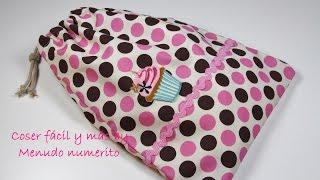 getlinkyoutube.com-Cómo hacer una bolsa de merienda