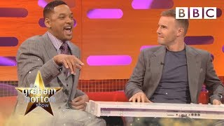 getlinkyoutube.com-Will Smith and Gary Barlow Do 'The Fresh Prince of Bel-Air' Rap - The Graham Norton Show - BBC One