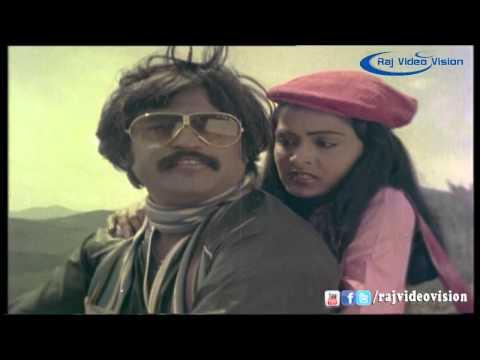 Thudikkum Karangal  | Rajinikanth & Radha Romance Scene