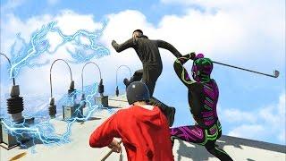 getlinkyoutube.com-ELECTRIFYING DEATHMATCH! - GTA 5 Funny Moments #662