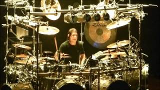 Mike Mangini drum solo - Dream Theater live at Credicard Hall - São Paulo - 08.26.12