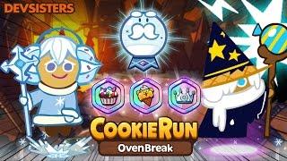 CookieRun OvenBreak (LAND7) 12.4M น้ำตาลหิมะ+พ่อมด SnowSugar+Wizard | xBiGx