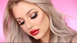getlinkyoutube.com-Holiday Glam Makeup Tutorial 2016