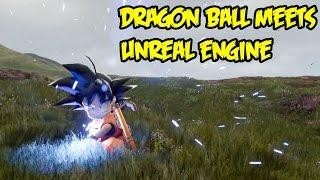 getlinkyoutube.com-Dragon Ball x Unreal Engine! We Need An Original DB Adventure Style Game!