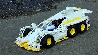 getlinkyoutube.com-Lego Technic Sport Prototype – Extended version