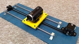 getlinkyoutube.com-Experiments with a Linear Motion Track