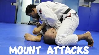 getlinkyoutube.com-MOUNT - 4 ATTACKS: Armbar, Shoulder Lock, Wrist Lock and Omoplata