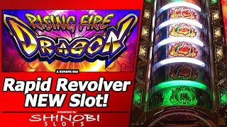 "getlinkyoutube.com-Rising Fire Dragon Slot - Live Play and Free Games in New ""Rapid Revolver"" Konami game"