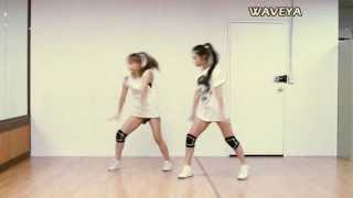getlinkyoutube.com-EXO Growl 엑소 으르렁 ★ Waveya Ari MiU (sisters) kpop cover dance