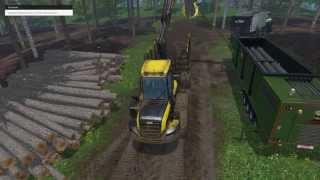 getlinkyoutube.com-FS 15 The Beast- Heavy Duty Wood Chipper